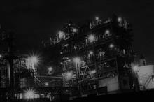 川崎市工場地帯夜景①