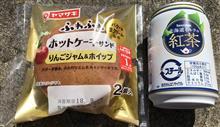 ヤマザキ ふわふわホットケーキサンド りんごジャム&ホイップ