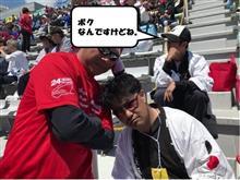 豊田私設応援団の福田くん