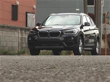 BMW X1シートカバーの巻