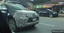 【 Scoop 】 2019 Mitsubishi Pajero Sport Facelift Ⅱ : Thailand ・・・・