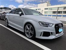 行って来ました、、Audi RS3CIRCUIT EXPERIENCE