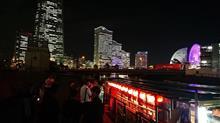 横浜港 屋形船周遊♪