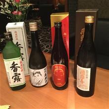 友人と日本酒を楽しむ会