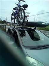 自転車 2台積み