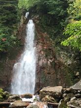 八幡平の七滝。