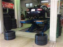 タイヤのリニューアルしました