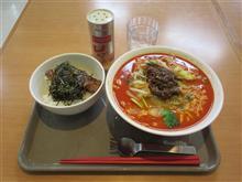 (スガキヤ) 野菜たっぷり担々麺 炭焼き豚丼