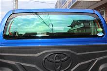 トヨタ・ハイラックスWキャブ(125系)【GHOSTⅡ(ゴーストⅡ) オーロラ78】のカーフィルム施工【リボルト茨城】