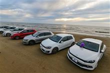VW GOLF 千里浜なぎさドライブウェイ オフ(氷見から千里浜へ)