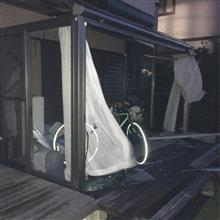 台風24号〜!_  ̄ ○