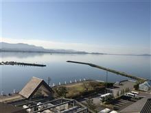 琵琶湖に来ています