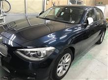 【BMW 116i 板金・塗装・修理】 東京都立川市内よりご来店のお客様です。