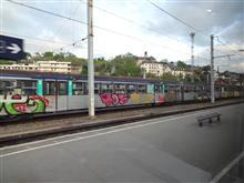 国境駅の乗継ぎ / Geneva  Switzerland