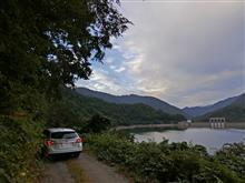 山形県鶴岡市上田沢(八久和ダム湖)