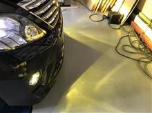 トヨタ 20系 アルファード ヘッドライト・フォグ・ポジション 各種バルブ交換