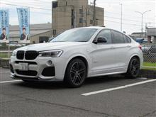 これもメンテナンス BMW X4 3.5i VARTA AGM H15バッテリー