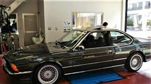 BMW ALPINA B9タイヤ交換