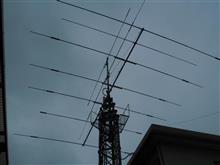 アンテナ調整 9月2日 (アマチュア無線)