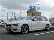 サスペンションリフレッシュ BMW F31 KONIアクティブ+エンジンオイル交換
