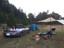 S2000でソロキャンプ!