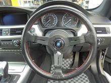2018年10月7日 BMW E92 320i ステアリング交換完了!!