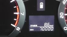 70000キロ
