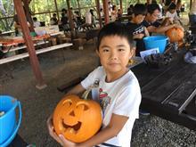 ハロウィン秋キャンプ