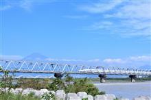 花の都公園から富士川へ。