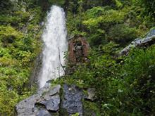 鳥取「雨滝」を散策