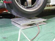 【実験・その2】 R34 GT-R編 実際にジャッキには、どのぐらい荷重がかかってるの?