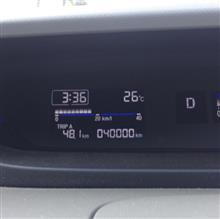 40,000km迄には、だったのですが…