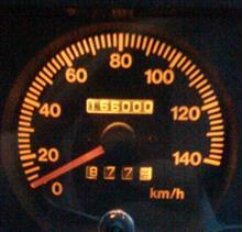 走行距離が166000km
