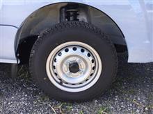 ジャンボのタイヤ
