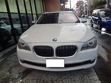BMW7シリーズ久々のご入庫♪