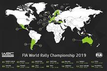 2019年WRCカレンダー発表!
