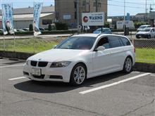 メンテナンスは大事...BMW E91 320 エンジンオイル交換 FUCHS 5W40