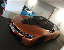 BMW i8 Roadster @ Sixt
