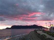 函館山と夕焼け