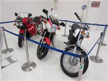 (プレ葉) バイクの展示