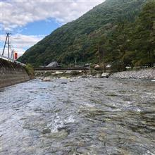 今日は飛騨小坂でマス釣り大会