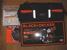 BLACK+DECKER期間限定お買い得セット EVO183P1-PBIE