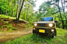 ジムニーで楽しむ林道ツーリングから始まる古の廃村宿泊と