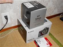キャノンレンズ購入 EF50mmf/1.2L USM