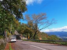 国道158号線(油坂峠)