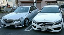 【グロリア&E550】車検費用比較