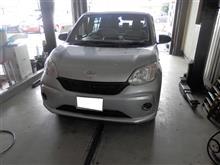 H29年式 トヨタパッソ フォグランプ取付