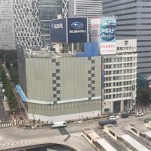 解体へスバルビル新宿駅