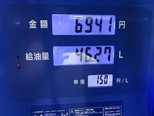 ガソリン価格上がってますね