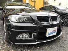 【BMW 320i 板金・塗装・修理(車両保険)】 東京都練馬区よりご来店のお客様です。